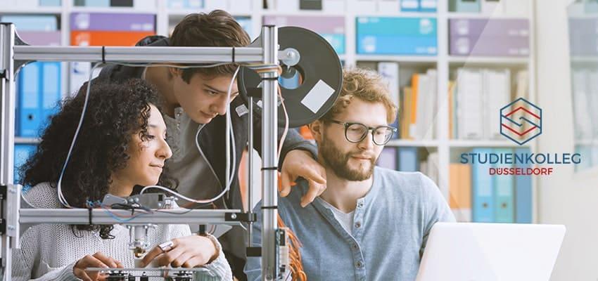 Studienkolleg Düsseldorf Schwerpunktkurs T-Kurs für Feststellungsprüfung