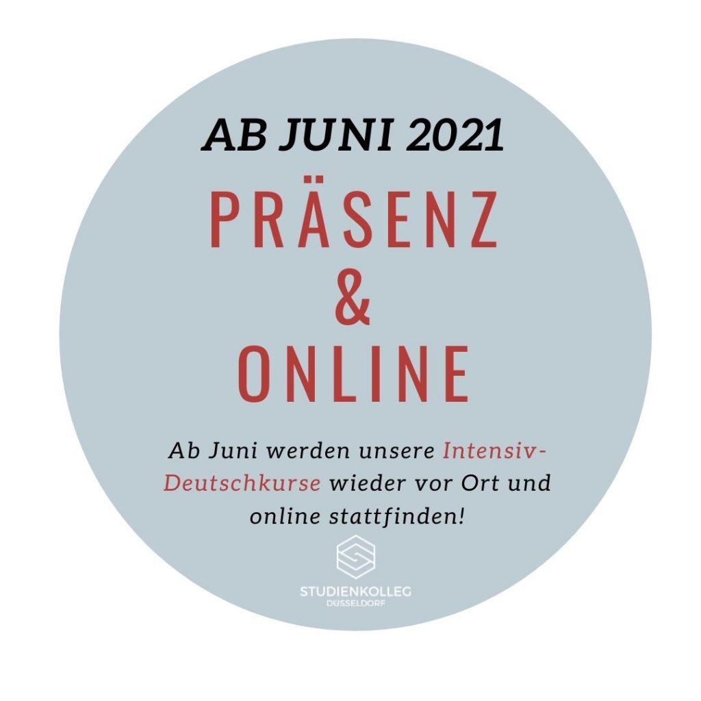 Studienkolleg Düsseldorf, Intensiv-Deutschkurs, Online-Kurs, Präsenz-Kurs