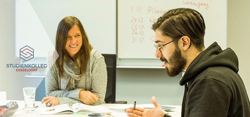 studienkolleg Düsseldorf Sprachschule Intensiv-Deutschkurs
